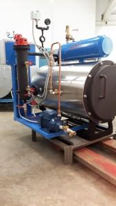 Ατμολέβητας αυτόματος Diesel-Αερίου τύπου sd-44