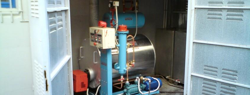 Ατμολέβητας Diesel-Αερίου τύπου sd-100